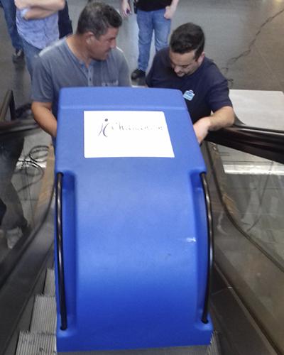 Nettoyage escalator Nantes